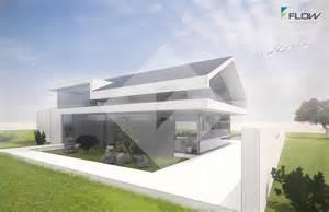 kleine hã user architektur einfamilienhaus modern satteldach ohne dachüberstand by http www flow architektur de portfolio
