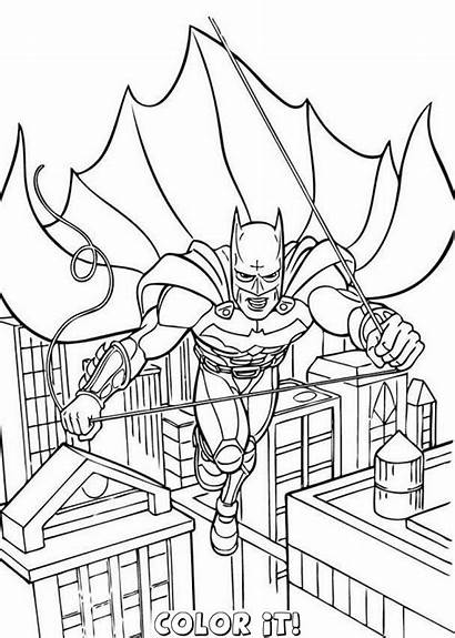 Batman Coloring Pages Printable Lego Gotham Boys