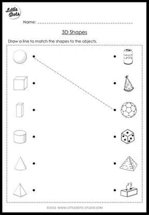 3d shape activities for preschoolers kindergarten math 3d shapes worksheets and activities 410
