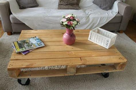 pallet palette table basse pallets designs
