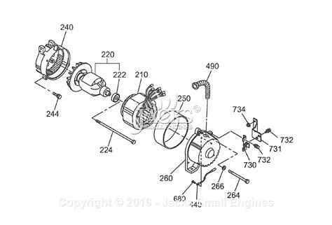 robin subaru rgx3600 parts diagram for generator