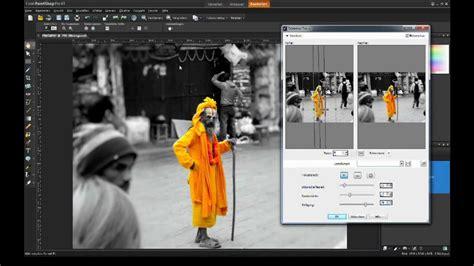 corel paintshop pro x4 tutorial bw conversion color