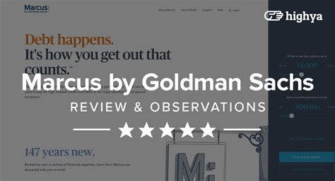 marcus  goldman sachs reviews  personal loans