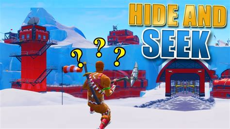 fortnite  hide  seek spots   snow season