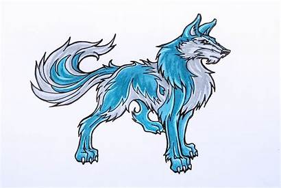Wolf Wolves Anime Draw Drawings Drawing Cartoon