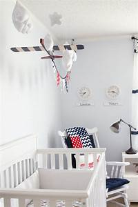 denton 39 s vintage airplane travel nursery project nursery