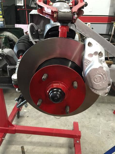 tr front disc brakes overhaul classic cars  tools