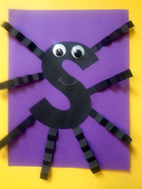 s is for spider alphabet crafts embedded picture 642 | 8bee05fe39c088df8ddcb6e64b8b334b