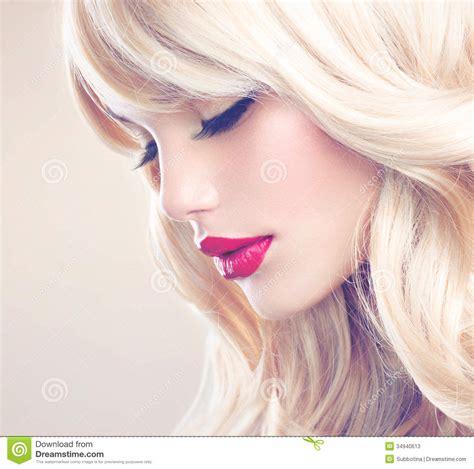 Beautiful Blond Girl Stock Photos Image 34940613