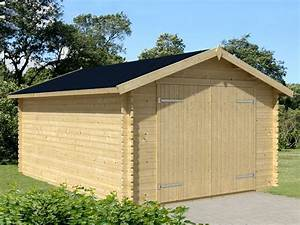 Garage Voiture En Bois : garage bois cape cod 34mm direct abris ~ Dallasstarsshop.com Idées de Décoration