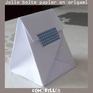 Comment Faire Une Boite En Origami : pliage papier une boite origami ~ Dallasstarsshop.com Idées de Décoration