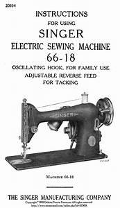 C1945 Singer Sewing Machine Manual 66