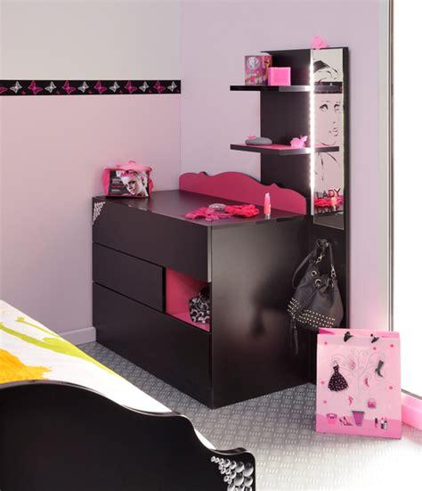 meuble coiffeuse pour chambre meuble coiffeuse pour ado table de lit
