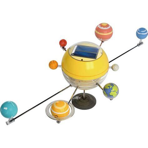 modelo sistema solar que funciona con la luz sol practicaciencia