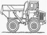 Coloring Truck Dump Kenworth Dumping Ground Colouring Printable Template Realistic Getcolorings Templates Colorings Chuck sketch template