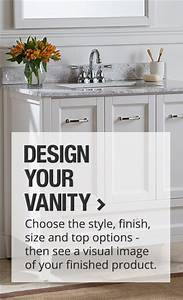 Bathroom vanities with sinks and faucets home design for Kitchen cabinets lowes with telegram furry stickers