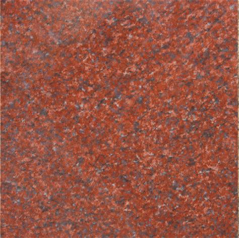 imperial red granite   polished
