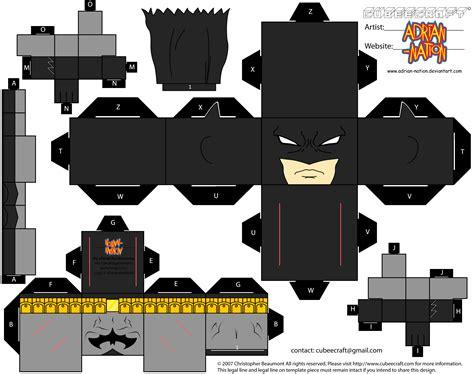 Tinker Cad Pop Figure Template by Batman Paper Toy Adventure Hh Pinterest