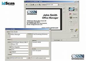 Id ocr software for Business card ocr software
