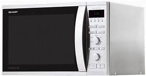 Mikrowelle Mit Grill Und Heißluft : sharp mikrowelle r941stw mit grill und hei luft gro er 40 liter garraum 1050 watt online ~ Orissabook.com Haus und Dekorationen
