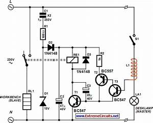 Mains Slave Switcher Circuit Diagram