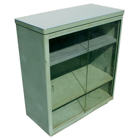 industrial style display cabinet midcentury retro style modern architectural vintage