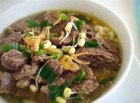 soto madura resep soto daging bening dan santan lengkap cara membuat