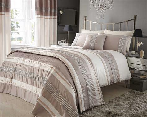 Cream Beige Duvet Quilt Cover Bed Bedding Set Or Cushion