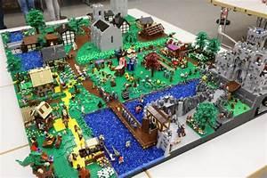 Fragen Zum Wasser : lego moc lego moc mittelalter stadt mit gro er burg ~ Lizthompson.info Haus und Dekorationen