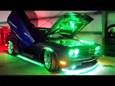 dodge challenger srt plum crazy custom led lighting