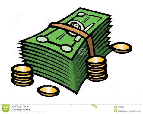 Cash & Coins Royalty Free Stock Photo - Image: 9750075
