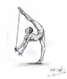 Gymnastics Drawings