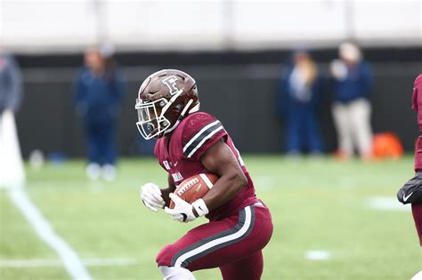 chase edmonds football fordham university athletics