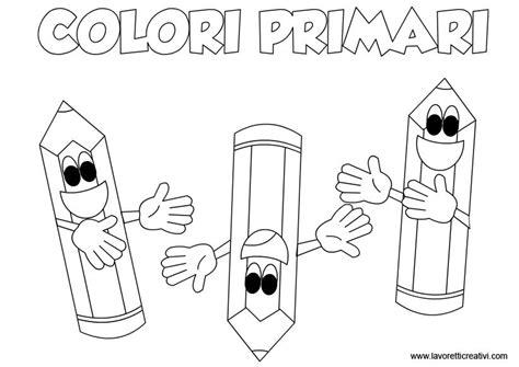 disegni da colorare con colori primari e secondari schede didattiche sui colori primari faaliyet colori