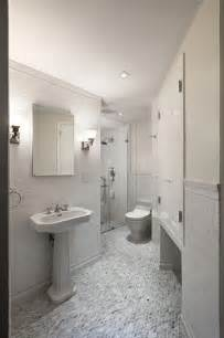 Nyc Bathroom Design Pre War Apartment Traditional Bathroom New York By Virtus Design