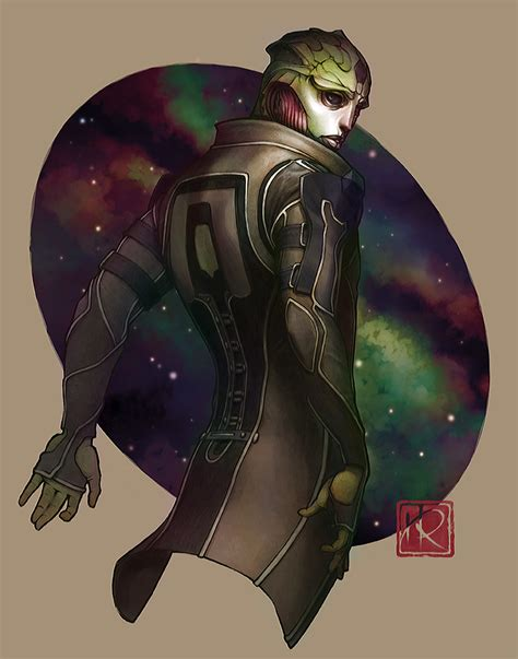 My Mass Effect World Thane Krios