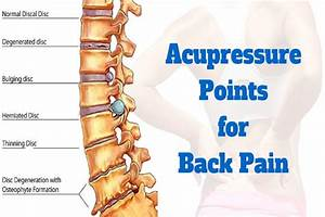 Acupressure Points For Back Pain - Important Tips