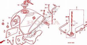 Fuel Tank  Xl125v1  2  3  4  5  6  For Honda 125 Varadero 2002