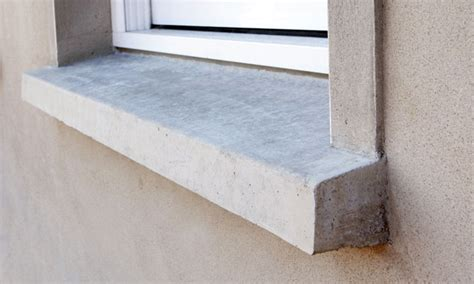 Exterior Window Sill Nose by Replacement Of Lintels