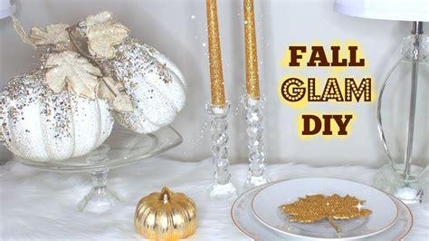 Diy With Me Glam Fall Decor  Katelovestyle Youtube