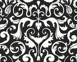 Küchenboden Schwarz Weiß : tapete contzen ii ba rock schwarz weiss lars contzen ii retro tapeten pr sentiert von ~ Sanjose-hotels-ca.com Haus und Dekorationen
