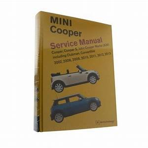 Bentley Diagram Book Repair Guide Service Manual For Mini Cooper  S  Jcw Clubman