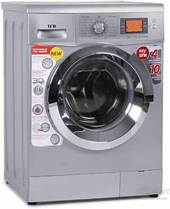 Ifb 7 Kg Fully Automatic Front Load Washing Machine Silver Price In India