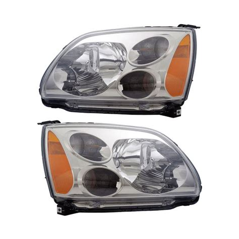 Mitsubishi Galant Headlights by 2009 Mitsubishi Galant Headlight Assembly Pair Parts From