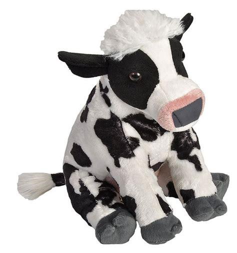 How To Soften Cowhide - cow soft plush 12 quot 30cm stuffed animal cuddlekins