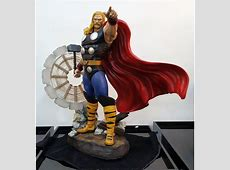 XM Studios Thor Statue no coin Simply Toys