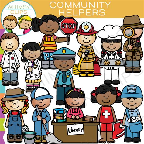 Community Helpers Clipart Community Workers Clipart Clipart Collection Community