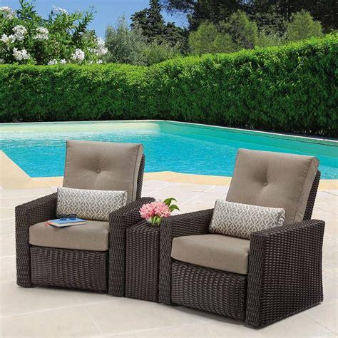 layton  piece woven outdoor recliner set