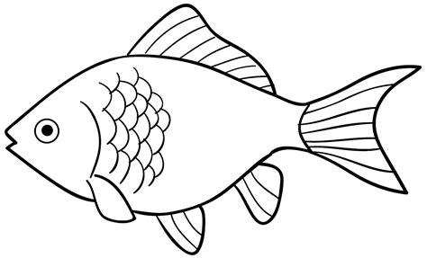 Coloring Ikan top gambar kartun hitam putih ikan kolek gambar