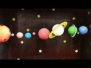Easy Kids Projects - Hanging Solar System - Kids Learning ...